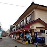 滝のや 屋外売店 - 最も駐車場寄りの店です