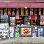 滝のや 屋外売店 - スナックコーナー