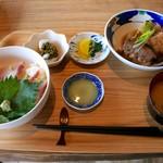 イネカフェ - 伊根ぶり丼 ランチセット