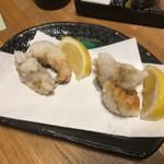 鉄板串焼き 咲蔵 - あんこうの唐揚げ