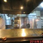ステーキやるじゃん - 店内雰囲気(キッチン)