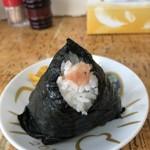 味覚 - タラコおにぎり 150円