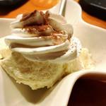 沖縄料理 馳走屋 楽 - 豆腐のティラミス