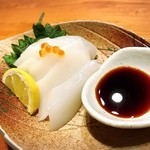 沖縄料理 馳走屋 楽 - セーイカ刺身