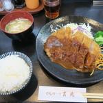 82295878 - ロースかつ定食 1,300円 (税込)