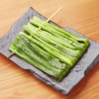季節のお野菜串も取り揃えております