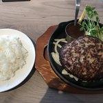 津の田ミート - 料理写真:和牛ハンバーグランチ300g