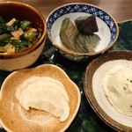 Dining TABI - 野菜系のお惣菜盛り合わせ