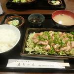 直ちゃん - 日向鶏たたき風定食