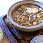かま濃 - 料理写真:味噌煮込み   数種類の味噌をブレンドした、こだわりの味。