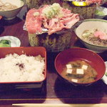 823992 - 廣司・飛騨牛朴葉焼定食