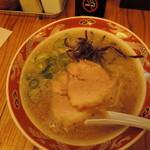 82300206 - 【こってりラーメン】600円 麺の硬さ普通