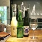 札幌バル ALBERO - 日本酒をワイングラスで楽しめます