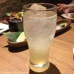 北海道ラクレットチーズ×肉バル  GRILL CHICKEN MARKET - グレープフルーツサワー(490円税別)