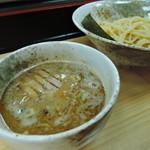 つけ麺・らーめん 辰寅 - 【つけめん並盛】700円 麺量200g