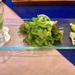 オンディーナ - フレスコ1950円税別の前菜