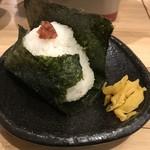 武屋食堂 - 料理写真:おにぎり梅