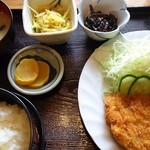 食事処 ぐるめ亭 - 梅カツ定食
