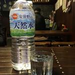 82304593 - 芋焼酎の水割り。1.5リットルのペットボトル付きです