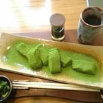 日本茶甘味処あずき - 料理写真:【2018/3】抹茶わらび餅