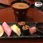 82306143 - お漬け物のお寿司