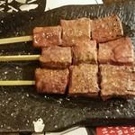 ろっきー - 炙りレバー  1本190円