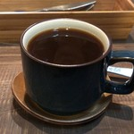 スイーツ カフェ キョウト ケイゾー - コーヒーはちょっと深煎り