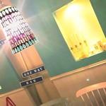 Malo - ティファニーブルーの壁にステンドガラスが綺麗です♪