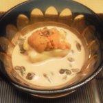 Horikane - うに豆腐です。非常に濃厚で絶品です。