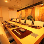 亀よし - 2階半個室/最大14名様着席