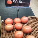森のマルシェ - 鬼っ子トマト、安定の150円