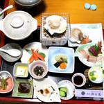 旅館 柳の湯 - 料理写真:和食膳10品