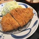とんかつ らくい - 料理写真:ロースかつ膳 150g 1380円