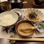 竹葉亭 - 鯛茶漬け(税込1944円)
