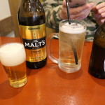 名古屋味噌 どて子 - 瓶ビールとホッピー