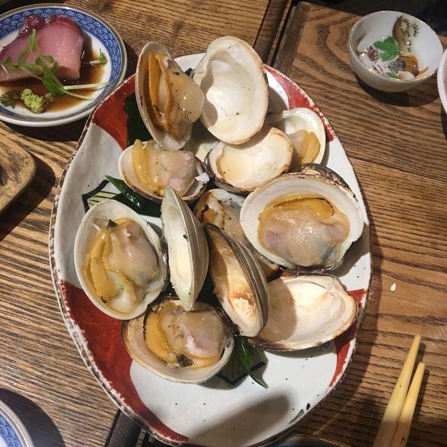 居酒屋 寿寿 - 白ハマグリ  美味しい!