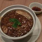 JASMINE 和心漢菜 - ふかひれの柚子白湯醤油煮込み