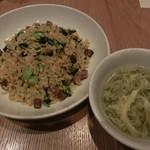 JASMINE 和心漢菜 - ター菜と煮豚のチャーハン