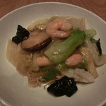 JASMINE 和心漢菜 - 海鮮入りあんかけ焼きそば