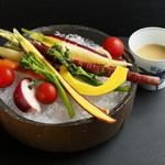 蒼樂 - 江戸野菜のバーニャカウダ