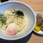 WEST - 料理写真:釜玉うどん