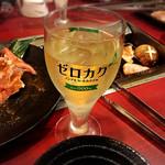 磨洞温泉 涼風荘 - ノンアルコールのカクテルで乾杯!