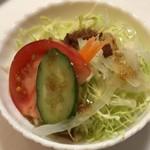ステーキハウス スエ - 野菜サラダ 700円