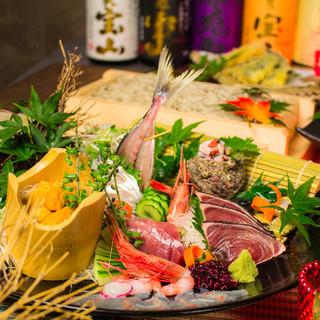 新潟郷土料理『へぎそば』の宴会プランは2999円~