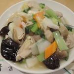 82335803 - 鶏片飯702円2017年7月23日青葉 新館