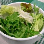 カフェ レルブ - ランチに付くサラダ