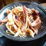 鯛介 - いかワタ漁師焼き