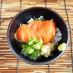 鯛介 - サーモン丼