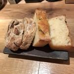 da Rio - 自家製パン 胡桃と無花果の全粒粉・フォカッチャ