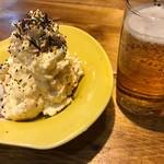 鶏と湯豆腐 居酒屋 あおぎ屋 - ポテサラ